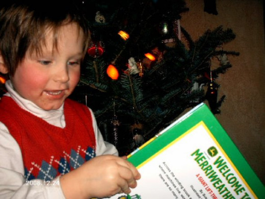 Ben, Christmas 2008.
