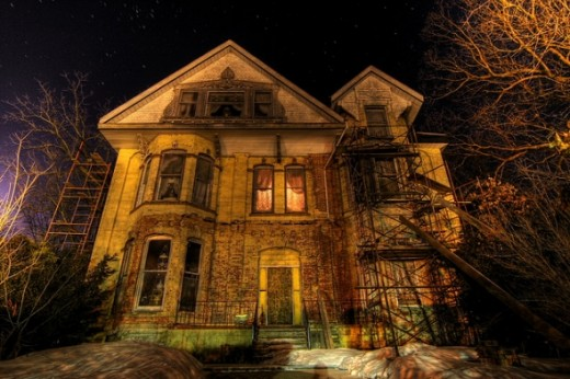 Mysterious Haunted House