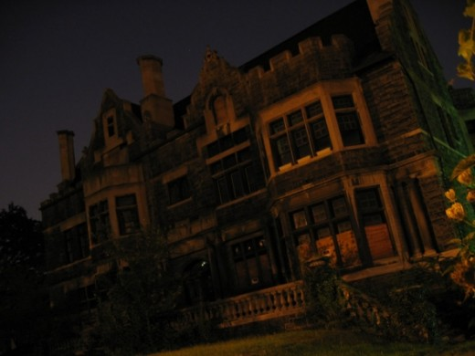 Creepy Haunted House