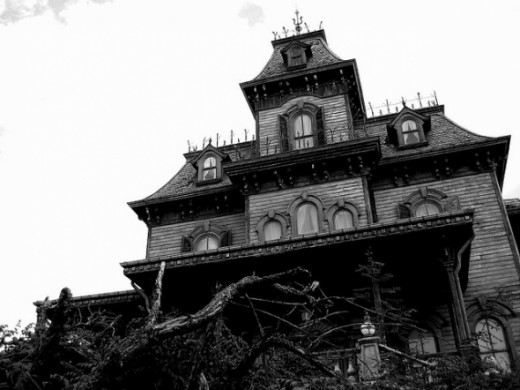 Disneyland Haunted House