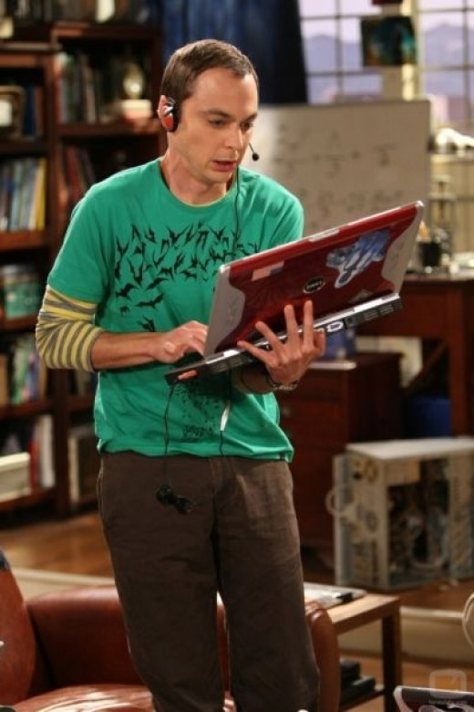 Sheldon Cooper, a theoretical physicist at Cal Tech and character on The Big Bang Theory.