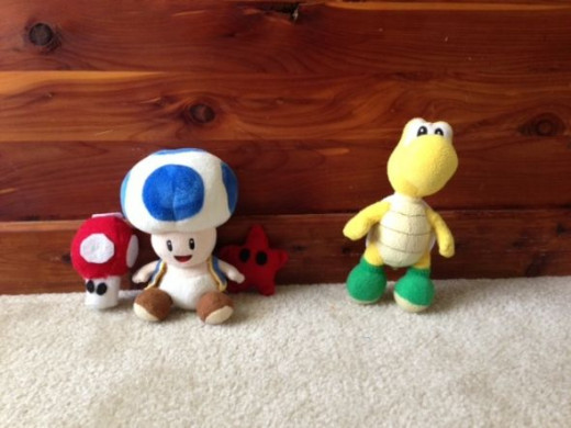 Toad and Koopa Troopa require a higher skill level to make than Stars, Mushrooms, or Goombas