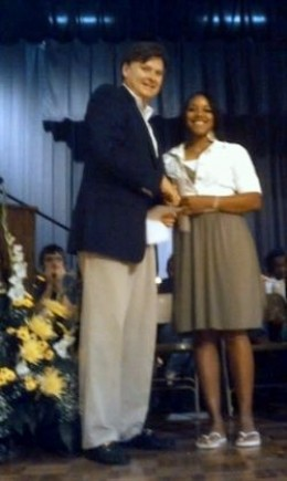 Sterlin Blakely PPIM Scholarship winner 2011