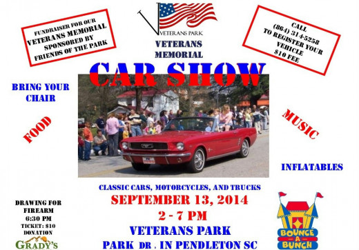 Veterans Park Car Show