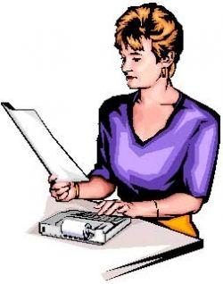 Accountant Preparing a Tax Return
