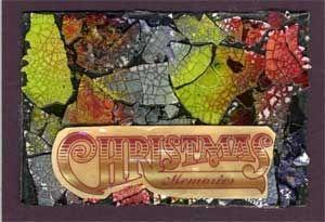Christmas Message on Eggshell Mosaic
