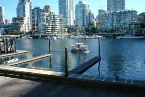 View of of False Creek from Granville Island