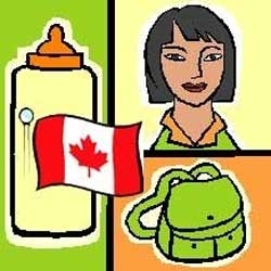 A Nanny, a Bab Bottle and a Canadian Flag