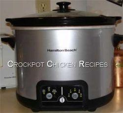 Crockpot or Slow Cooker