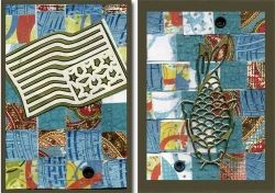 ATCs with Bargello Design
