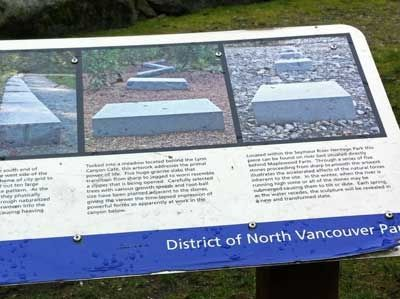 Second Section of Plaque Introducing the Public Art