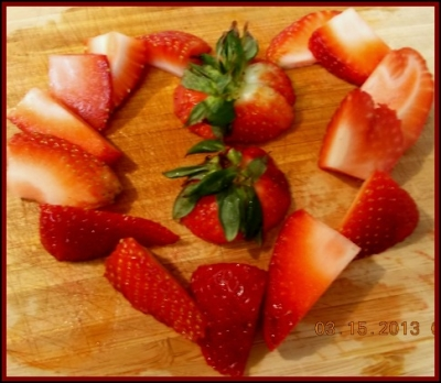 We Love Strawberries!