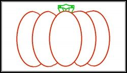 Pumpkin template example