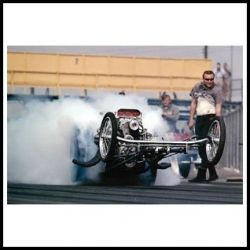 Drag Racing Poster by Garage Art - Amazon