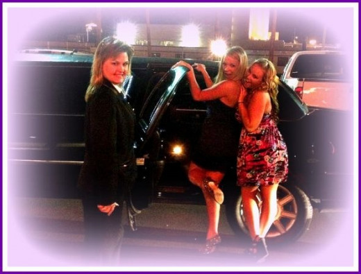 Limousine Time In Las Vegas Image: M Burgess