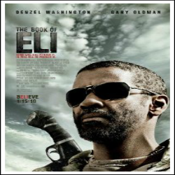 THE BOOK OF ELI MOVIE POSTER 2 Sided ORIGINAL 27x40 - Amazon