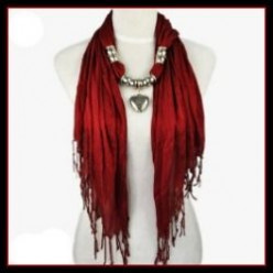 Beautiful Fashion Jewelry Scarves