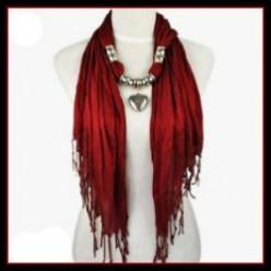 Beautiful Fashion Jewelry Scarves
