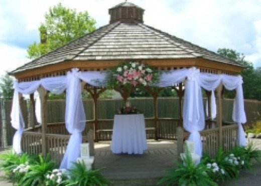 tulle in your wedding tips and ideas hubpages. Black Bedroom Furniture Sets. Home Design Ideas