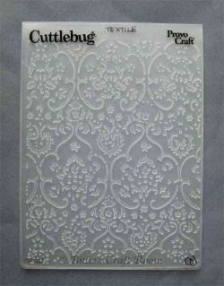 Cuttlebug folders have lots of dimension. They can be used over and over to create unlimited designs