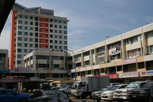 Kota Kinabalu Accommodation: Cititel Express Hotel in the background