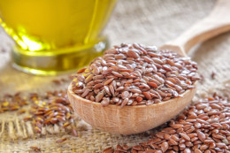 Flax seeds cures constipation in matter of minutes.