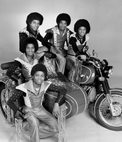 The Jacksons. Collars not to scale.