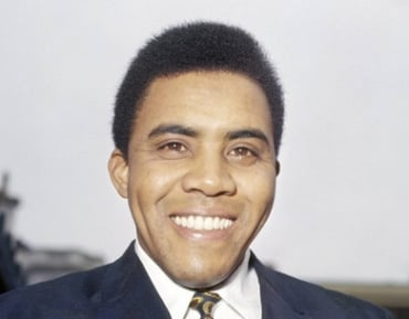 Jimmy Ruffin. Broken heart not in picture.