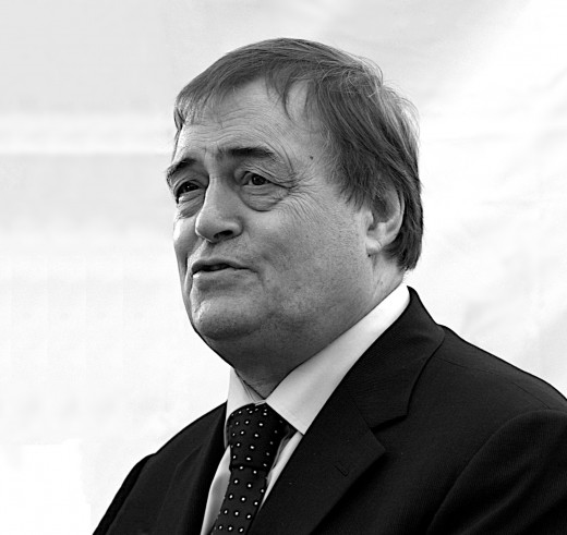 John Prescott. Not Tony Christie. Great picture, though.