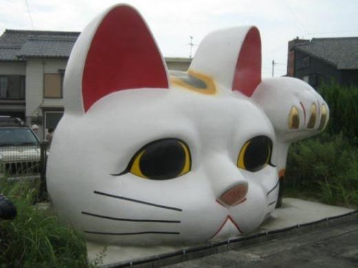 Giant Neko, Nagoya, Japan
