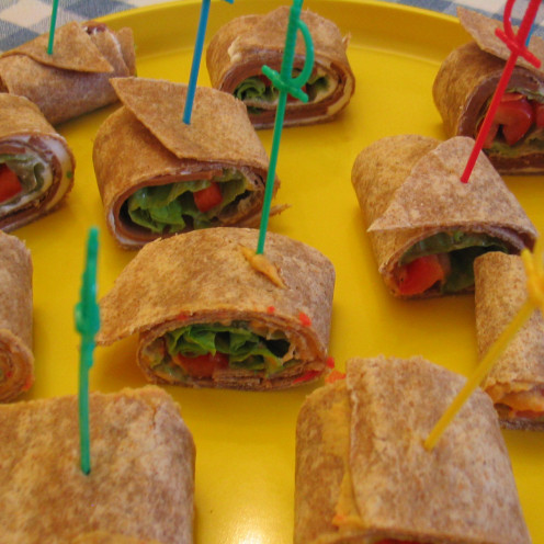 Wraps are an easy option for fairly quick meals.