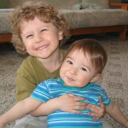 My sons when they were little guys!