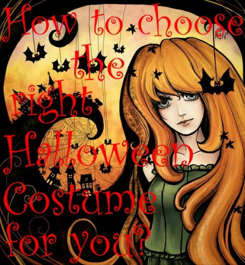 In what ways can you categorize or choose what kind of costume you might want to wear for Halloween?