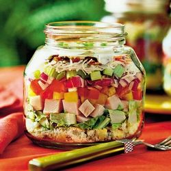 Serve Your Food In A Canning Jar