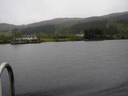 More Loch Ness shoreline.