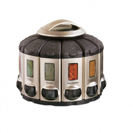 Automatic spice rack