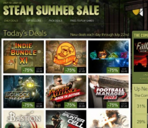 Steam Sales are a great resource for profit-making