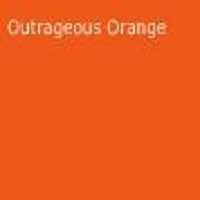 Outrageous Orange, 2013-10, Benjamin Moore. More reserved when used with the neutrals, Cabin Fever, 1540, or Polar Frost, 1506, or more exuberant with the icy blues of Santorini Blue, 1634, or Seattle Gray, 2130-70.