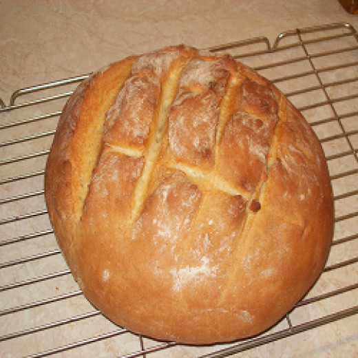 loaf of bread recipe, by peterb6001