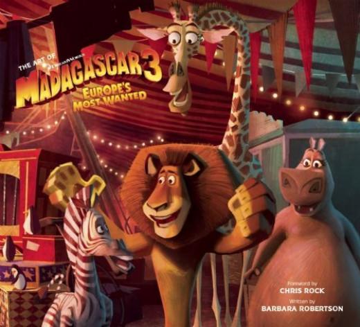 The Art of Madagascar 3 book from Amazon UK