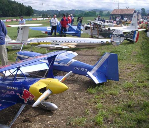 plane modelling