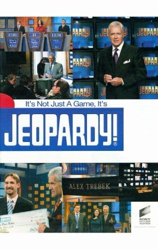 Jeopardy (TV) 11 x 17 Poster Available on Amazon