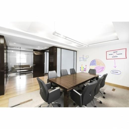 Interactive boardroom activity.