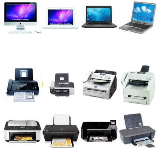 Laptops, Printers and Faxes on Amazon