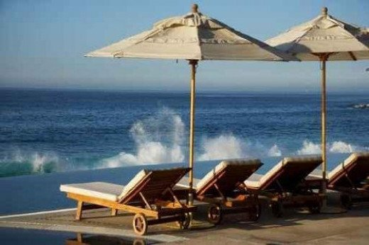 Beach in Los Cabos, Mexico - Peel and Stick Wall Decal