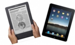 Kindle DX versus the iPad