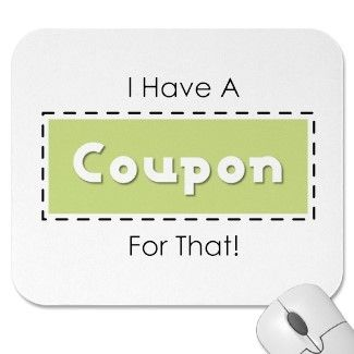 I Have a Coupon Mousepad