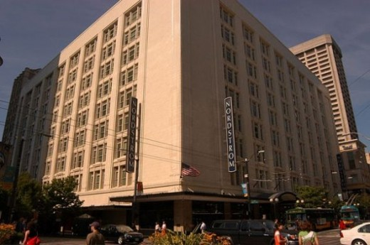 Nordstrom's flagship store in Seattle