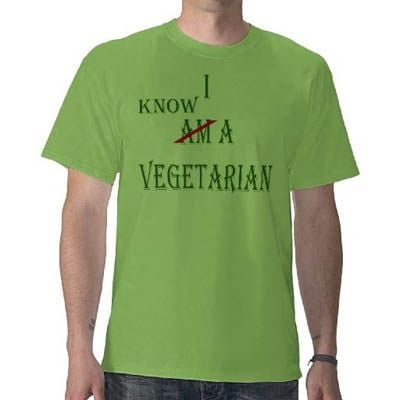 I Know a Vegetarian T-Shirt