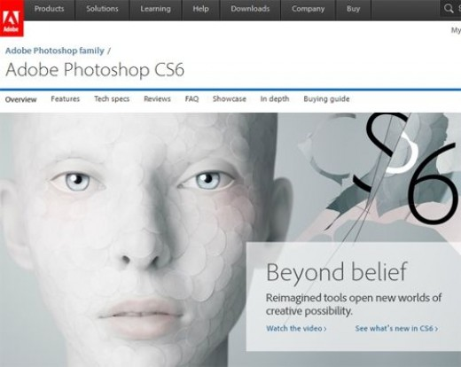 Adobe Photoshop Site